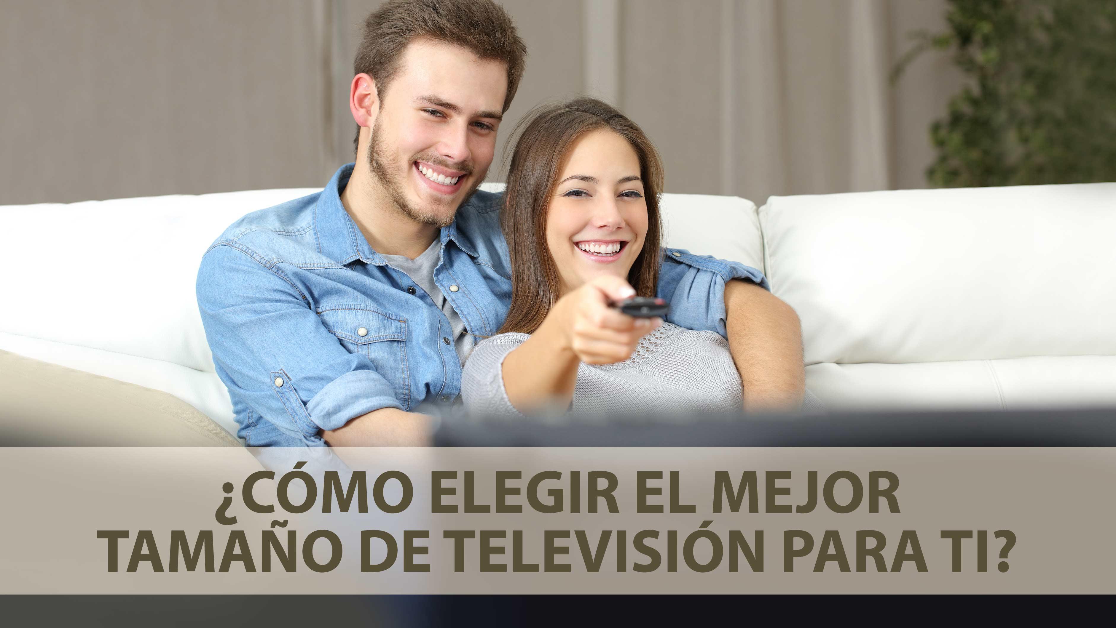 ¿Cómo elegir el mejor tamaño de televisión para ti?