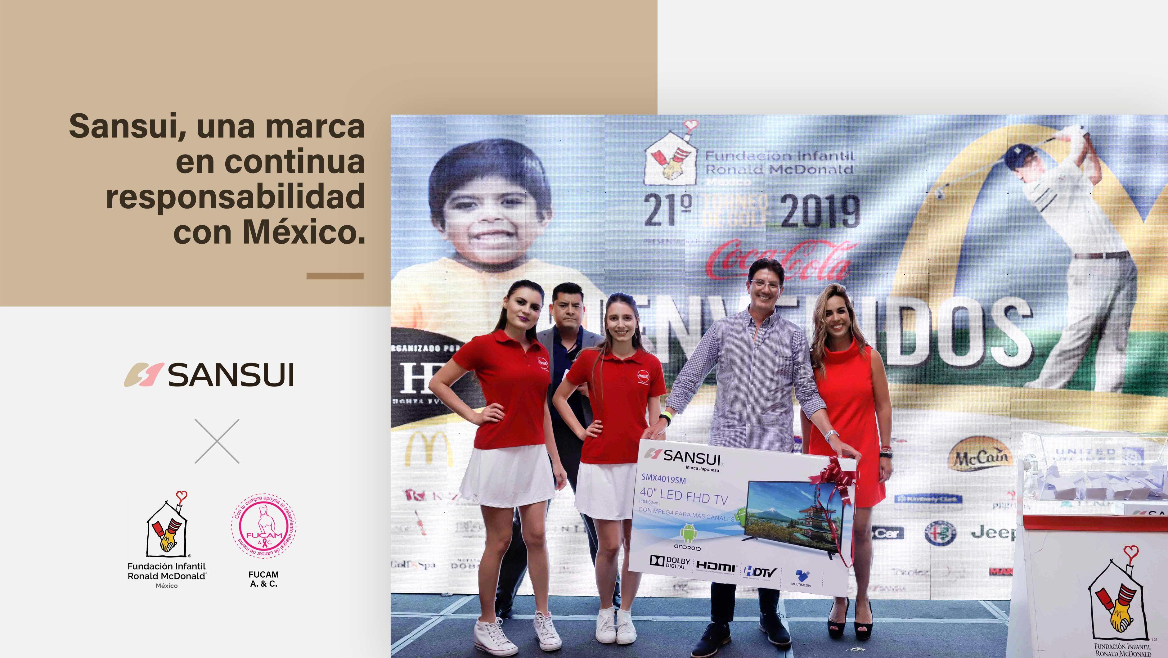 Sansui, una marca en continua responsabilidad con México.